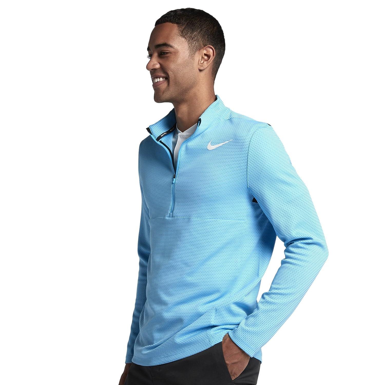 TALLA Small (Tamaño del fabricante:S). Nike 854336 Jersey, Hombre, (Azul Fury), Small (Tamaño del Fabricante:S)
