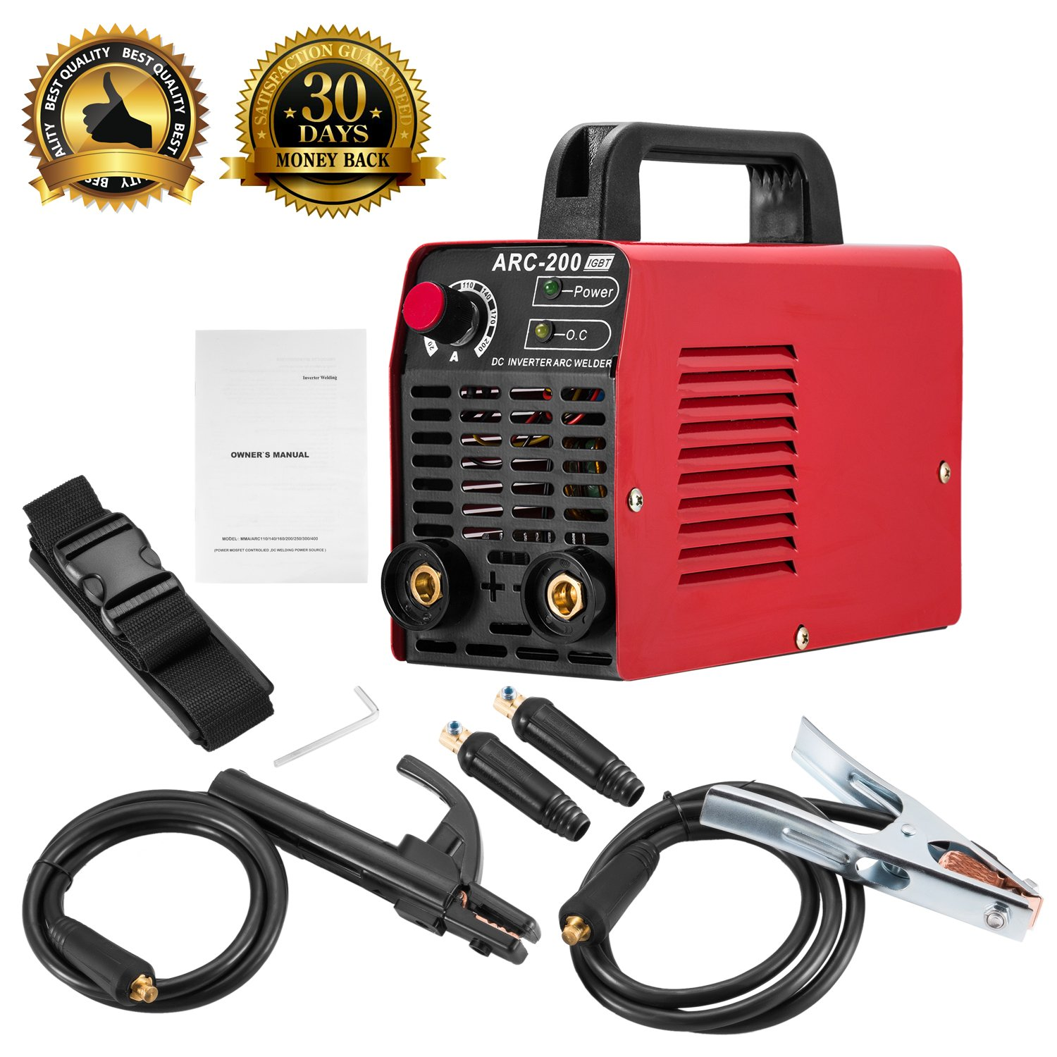 Arc Welder 110v 200a Welding Machine Igbt Inverter Dc Mini Electric Mode Schematic On Welders Free Accessories Tools High Frequency Household Smart For Novice
