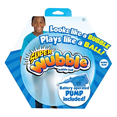 Wubble Super NS20169.4300 with Pump, Blue: Toys & Games