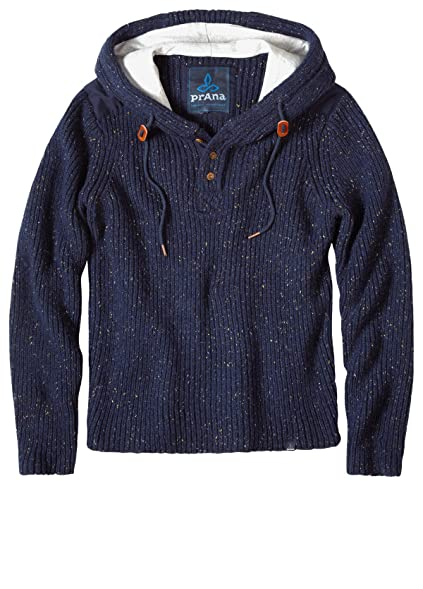 prAna Men's Hooded Henley Sweater & Sunscreen Bundle at Amazon ...