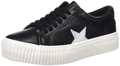 Cherry, Zapatillas para Mujer, Negro (Nbk/Negro Napa), 39 EU Coolway