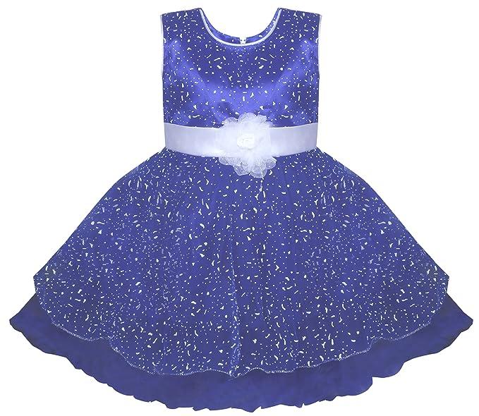 c4ff95b00415 BENKILS Cute Fashion Baby Girl s Dew Drop Party Wear Frock Dress for ...