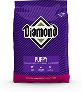 Diamond Premium Puppy Complete and Balanced Dry Dog Food Formula with Protein, Probiotics and Healthy Fat That Provide High Nutritional Value in Growing Puppies