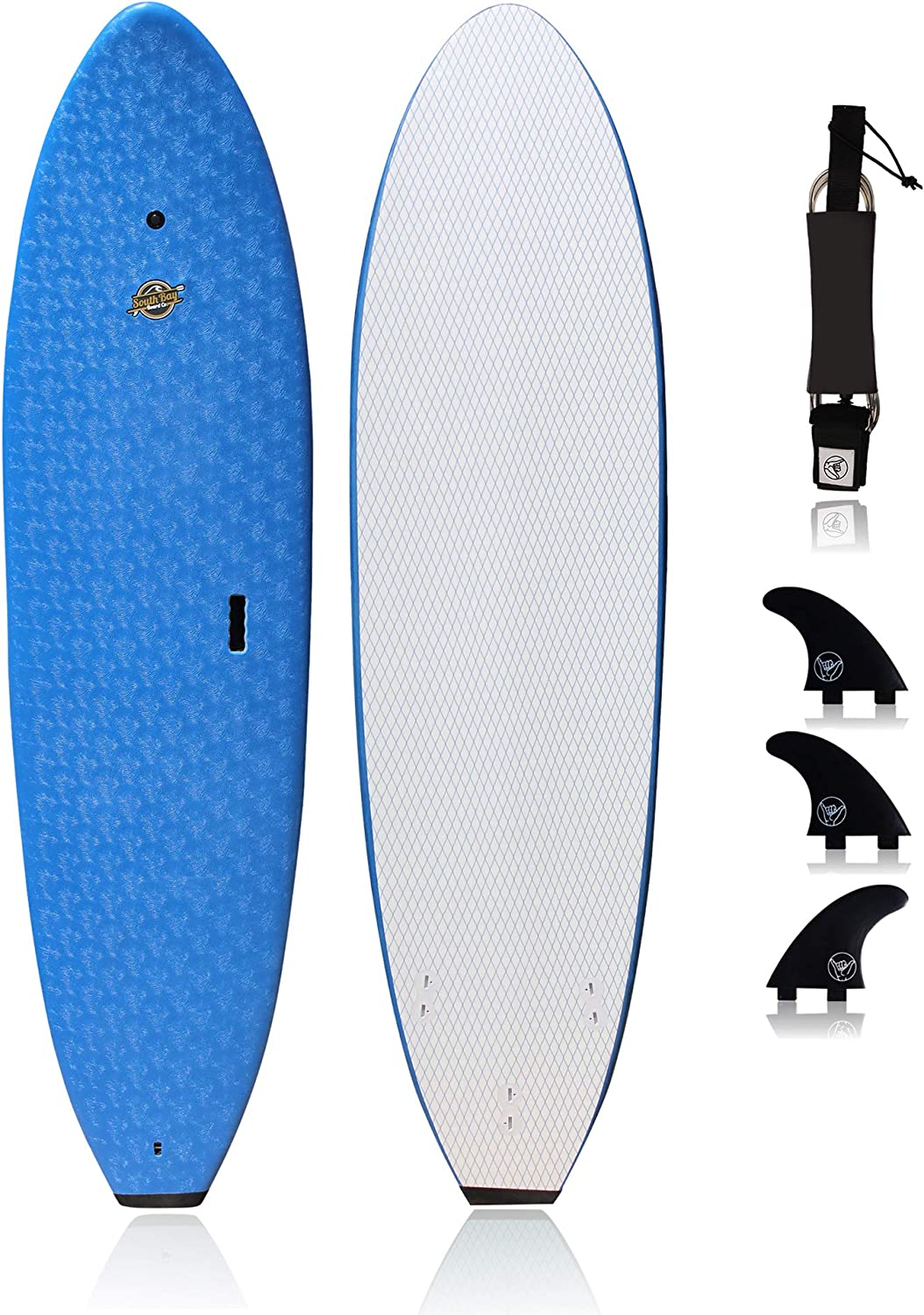 SBBC 7 ft Soft Top Surfboard