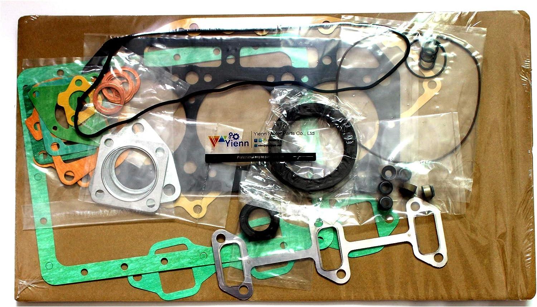 3TN66 3TN66-UJA 3TN66-UJF full/overhaul/gasket/kit/for Yanmar 3TN66-UJ 3TN66-UJ2 loader engine parts