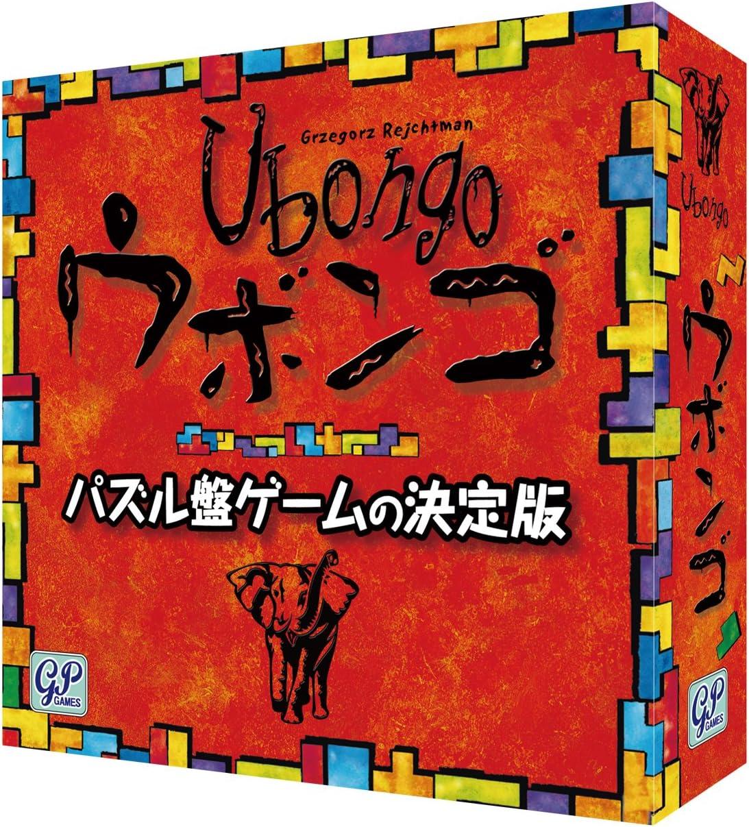 Amazon | Ubongo ウボンゴ スタンダード版 | ボードゲーム | おもちゃ