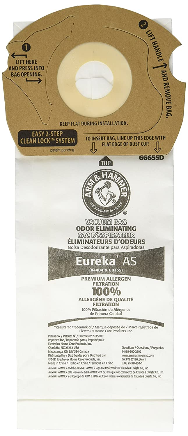 Arm & Hammer Eureka Style As Premium Vacuum Bag (9 Pack)