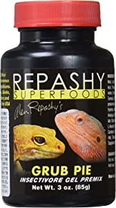 Repashy Grub Pie Insectivore Diet Gel Premix (Reptile) 3 Oz JAR