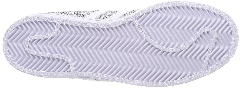 adidas Superstar W, Scarpe da Fitness Donna, Argento (Supcol