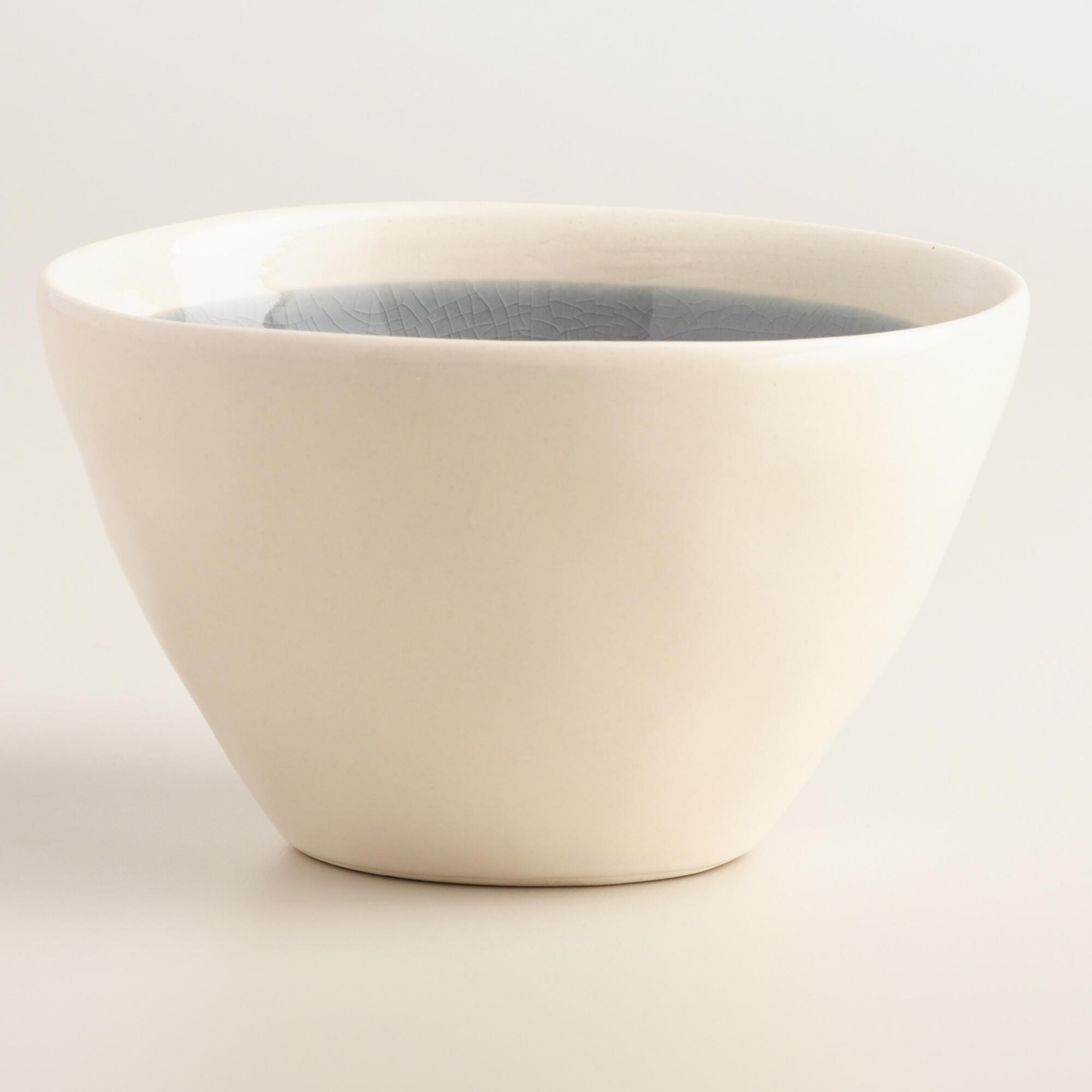 Gray Henley Tidbit Bowls Set of 4 | World Market