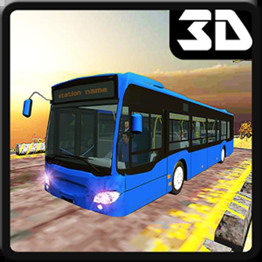 Coach Bus (OffRoad hill climbing Megabus Simulator 2017 3D)
