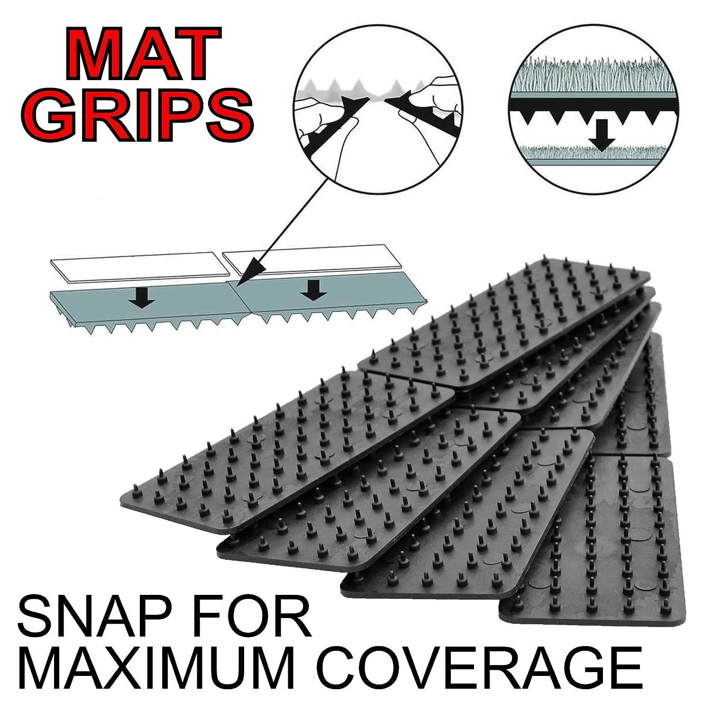 Tapete antideslizante y agarres de alfombra EVITE que sus alfombras y tapetes se deslicen o resbalen.