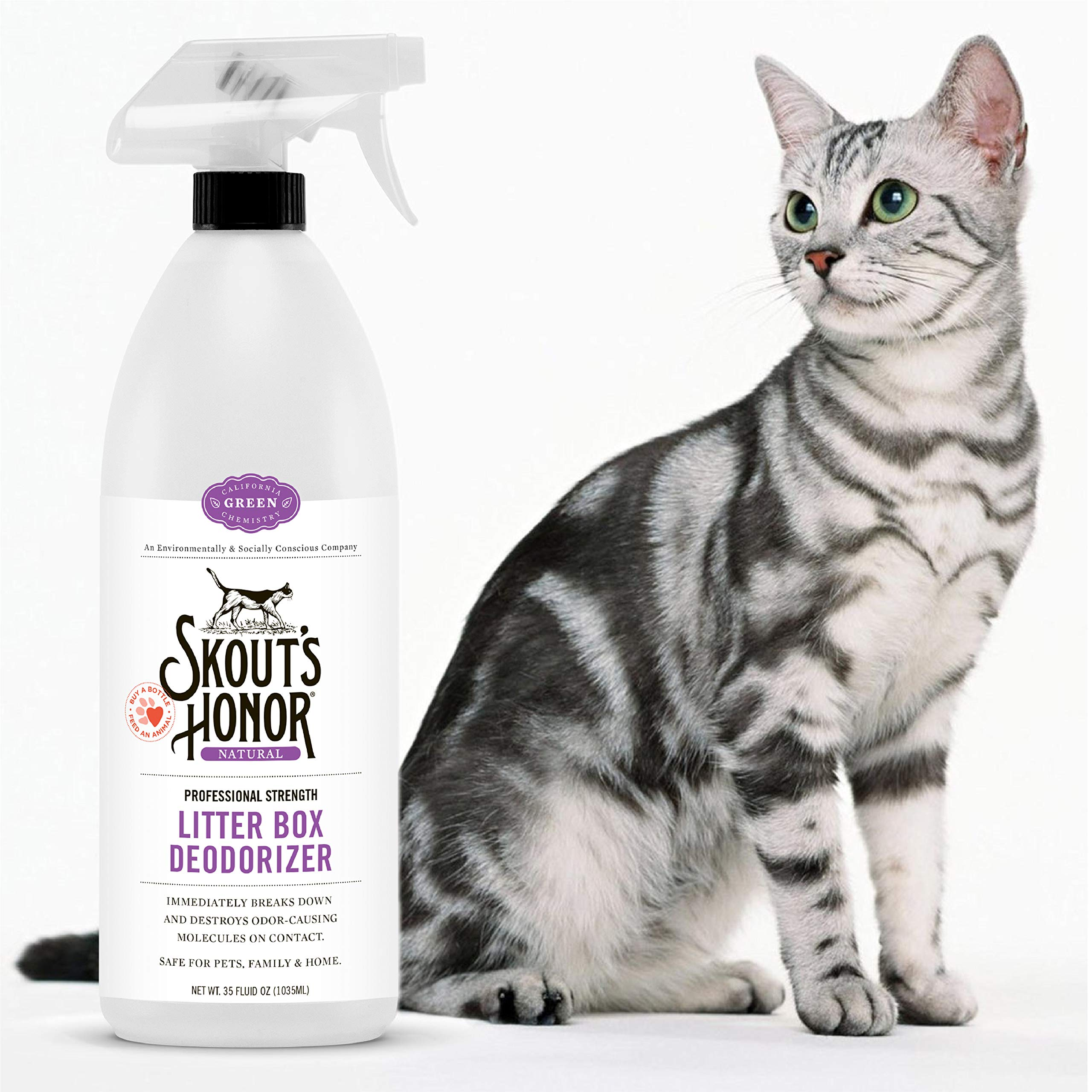 Skout's Honor Professional Strength Litter Box Deodorizer by SKOUT'S HONOR
