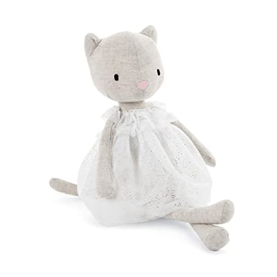 Jellycat Jolie Kitten Stuffed Animal, 12 inches: Toys & Games