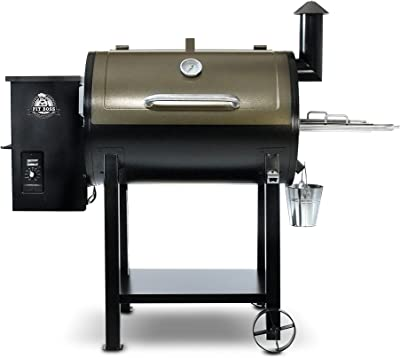 PIT BOSS Grills 72820 Deluxe Wood Pellet Grill