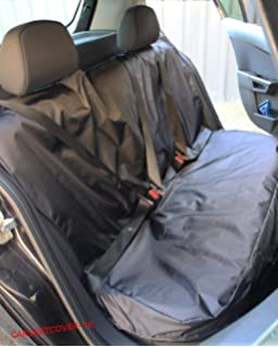 SEAT EXEO ST 09-ON BLACK REAR WATERPROOF SEAT COVERS