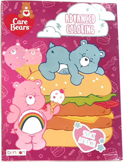 - Bendon Care Bears Advanced Coloring Book - Snack Attack!, Arts & Crafts -  Amazon Canada