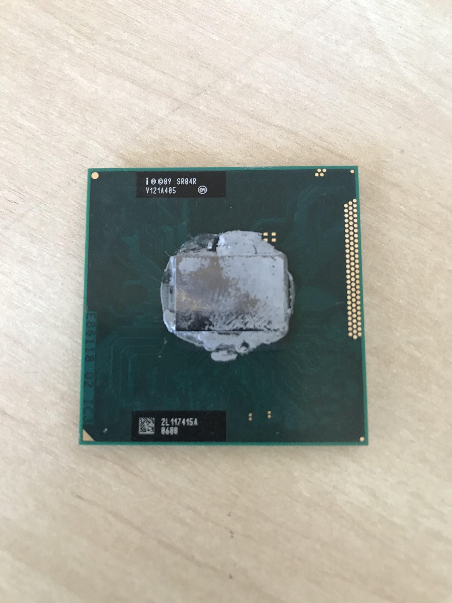 Intel Core i3-2310M SR04R 2.1GHz 3MB Dual-core Mobile CPU Processor Socket G2 988-pin by Intel (Image #2)