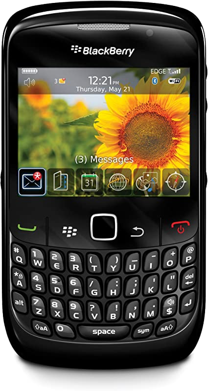 Blackberry Curve 8520 Smartphone Tastiera Qwertz Colore Nero Importato Da Germania Amazon It Elettronica