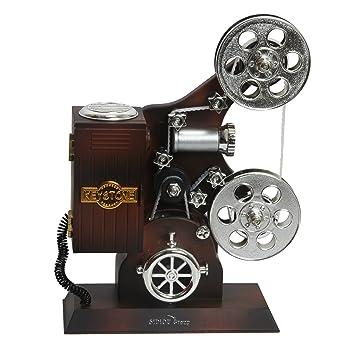 Sidiou Group Creativa clásica película de cine proyector modelo de caja de música mecánica encantadora caja de música romántica caja de música caja de ...