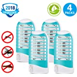 Mosquito Killer, Bug Zapper Electric Mosquito Zapper Gnat Zapper - Protects Up to 200 Sq Ft/Bug and Fly Killer, Mosquito Trap - for Residential and Commercial Use