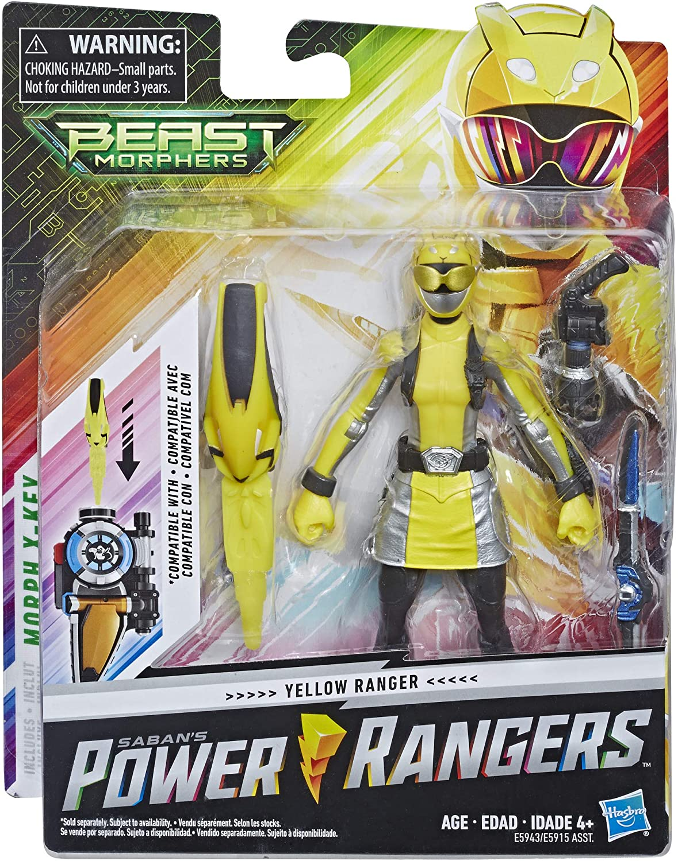 Hasbro power rangers Bête Morphers Gold Ranger Enfant Jouet Cadeau