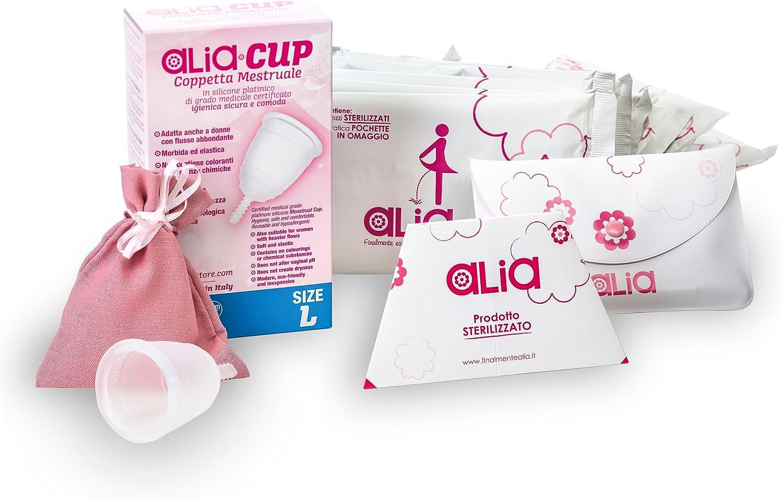 Alia & # x2022; Cup Copa Menstrual Talla L + 12 Pochette Alia ...