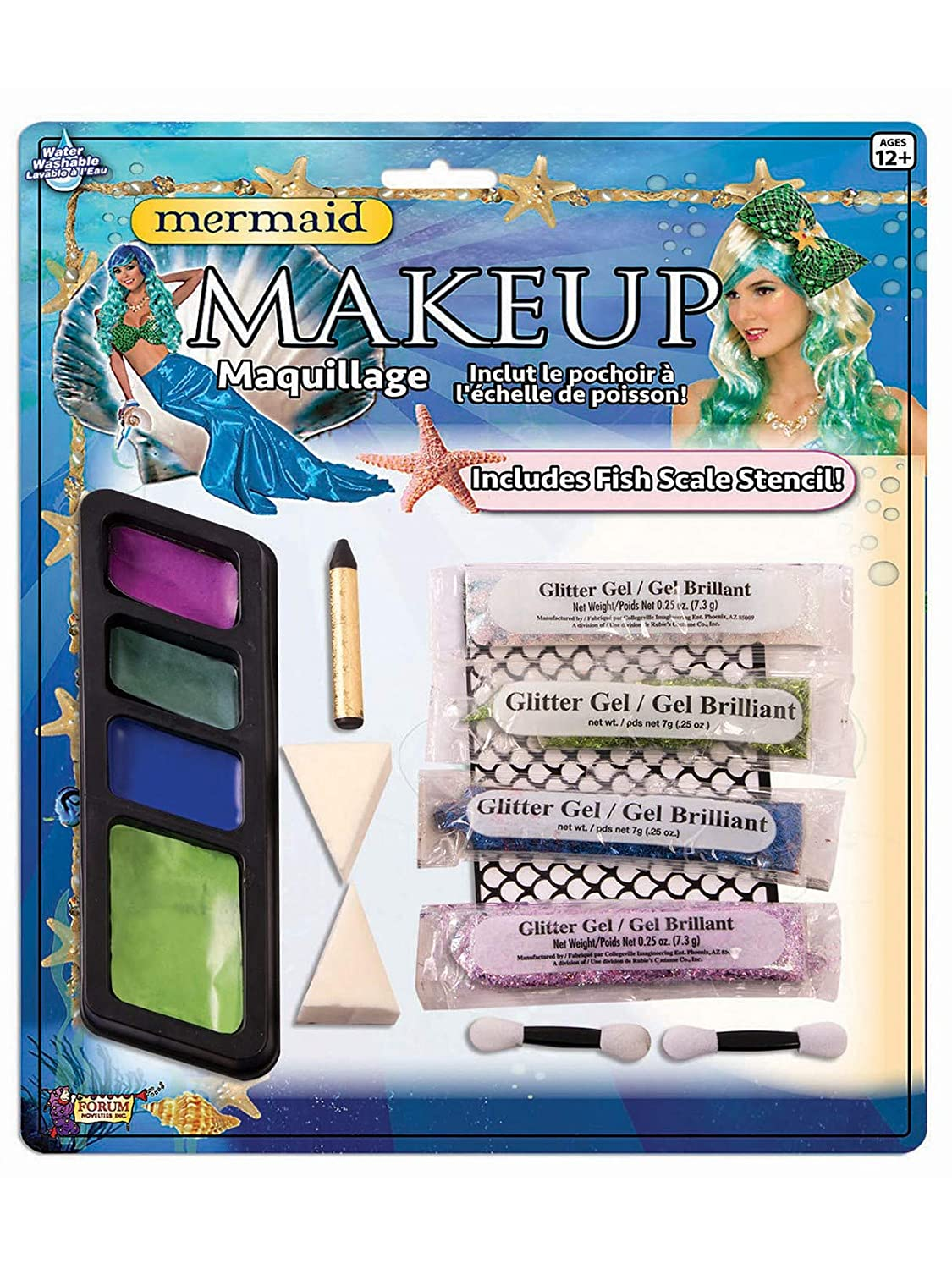 Forum Novelties Halloween Make Up Kit Rubie' s Costume 65976