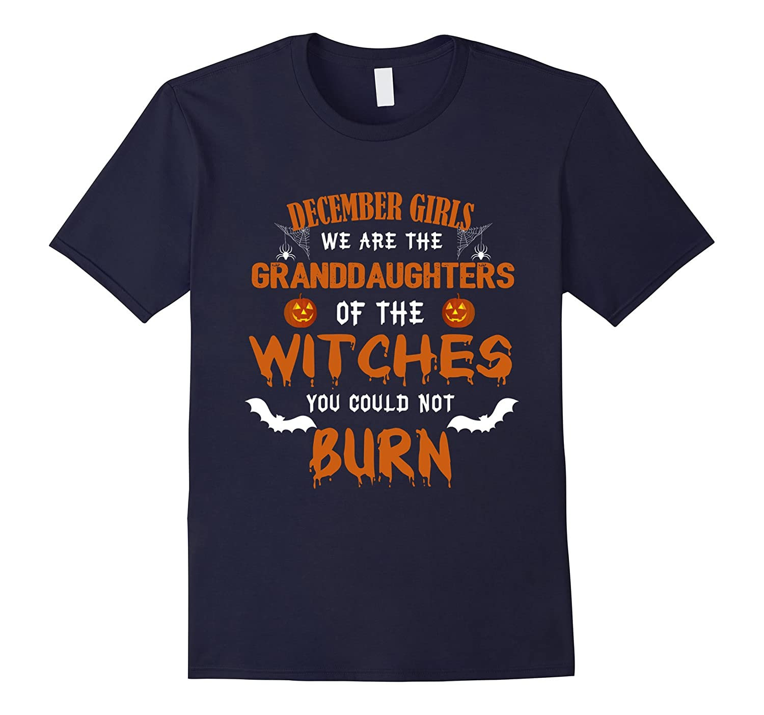 December Girls Granddaughters Of Witches Halloween Birthday-Art