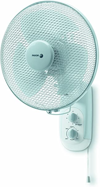 Fagor - Ventilador Pared Vp30, 3 Veloc, 40W, Temporizador.: Amazon ...
