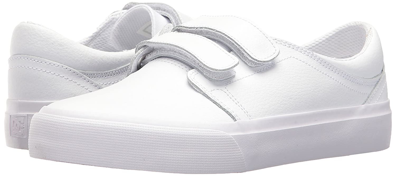 DC Women's Trase V SE Skate Shoe Red B0731YN7K7 10 B(M) US|White/White/Athletic Red Shoe 516852