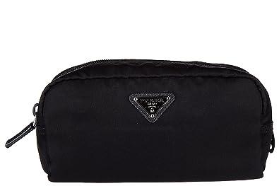 Prada men s Nylon travel toiletries beauty case wash bag vela black ... cd592d2863