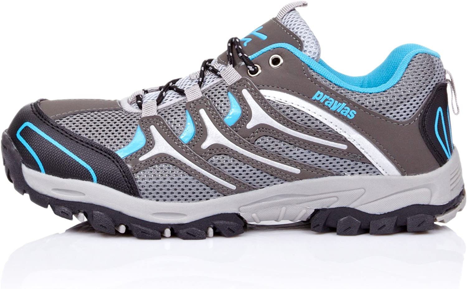 Praylas Zapatillas Trekking Estornino Gris/Azul EU 45: Amazon.es: Zapatos y complementos