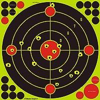 30,5 cm / 12 inch splatter targets/schotten licht geel/schotel herkenning op lange afstand