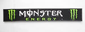 Monster Energy Drink Rubber Bar Mat
