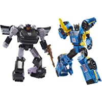 """Transformers - Generations - War for Cybertron: Galactic Odyssey - 5.5"""" Dominus Criminal Pursuit 2-Pack - Action Figure…"""