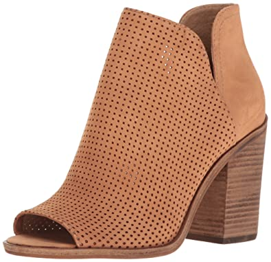 b2134fc4397 Steve Madden Womens Tala High Heel Open Toe Bootie Shoes