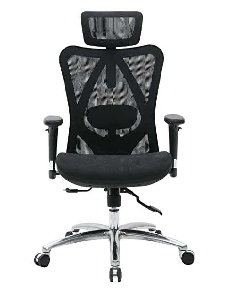 Admirable Sihoo Ergonomic Office Chair Computer Chair Desk Chair High Back Chair Breathable Skin Friendly Mesh Chair Adjustable 3D Armrest And Lumbar Support Ibusinesslaw Wood Chair Design Ideas Ibusinesslaworg