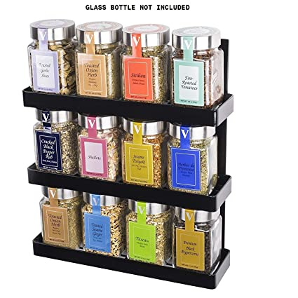 Buy Indian Decor 3 Tier Spice Rack Pantry Storage Organizer