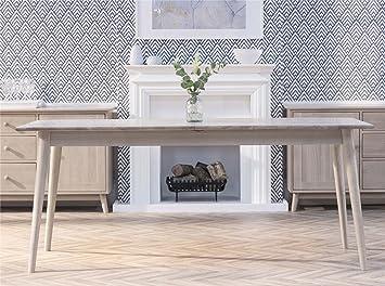 Edvard Olsen Solid Oak Rectangular Extending Table Large Oak Dining Table In Light Oak Extends Into 3 Sizes 180 21 240