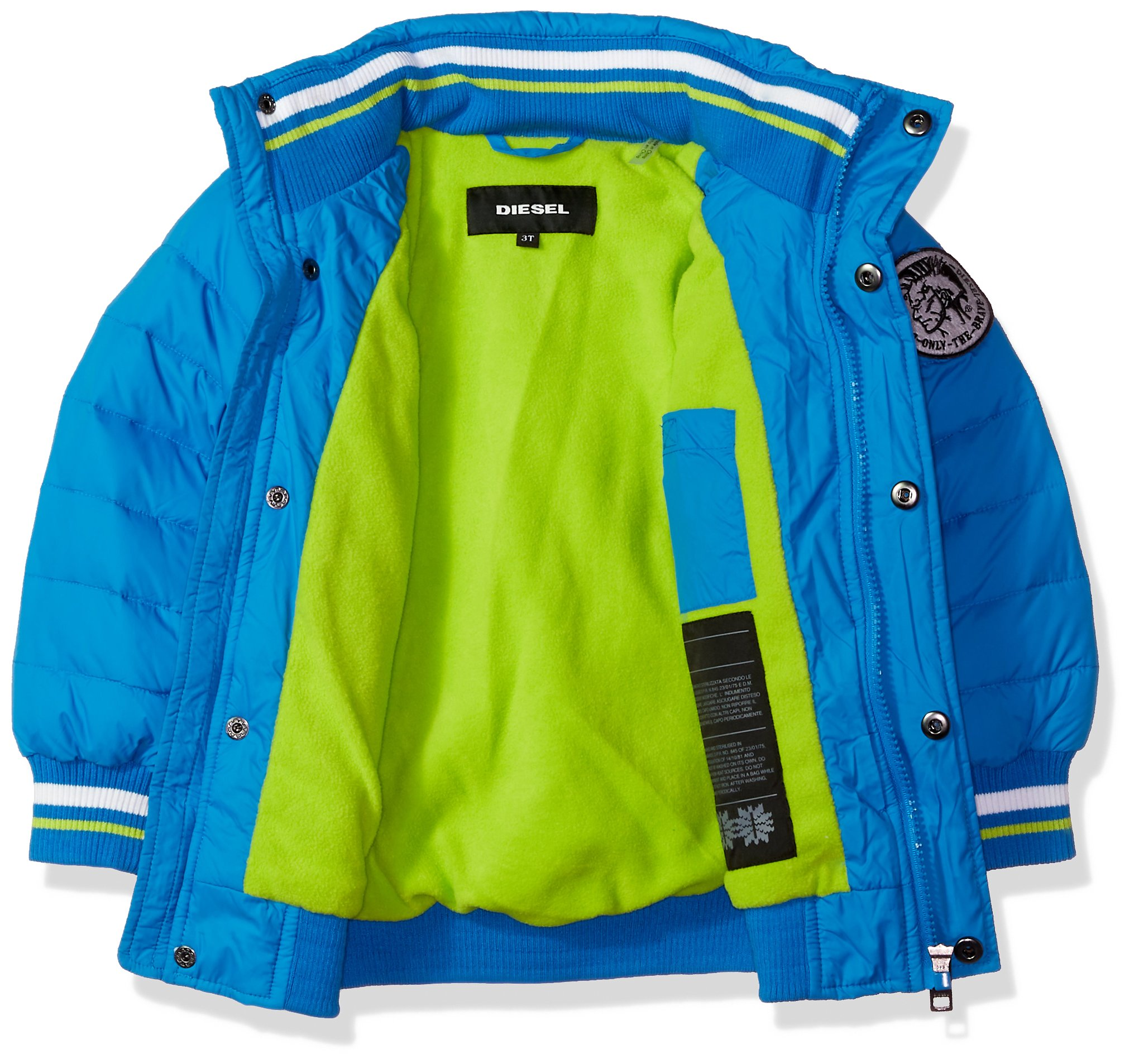 Diesel Toddler Boys' Outerwear Jacket (More Styles Available), Bubble/Blue, 4T by Diesel (Image #2)