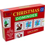 Christmas Dominoes - A fun Christmas Party Game - The Original and Classic Christmas Dominoes Game with Christmas themed pieces for a fun-filled Christmas Party!