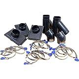 POWERTEC 70200 2-1/2-Inch Three-Machine Dust Collection Kit