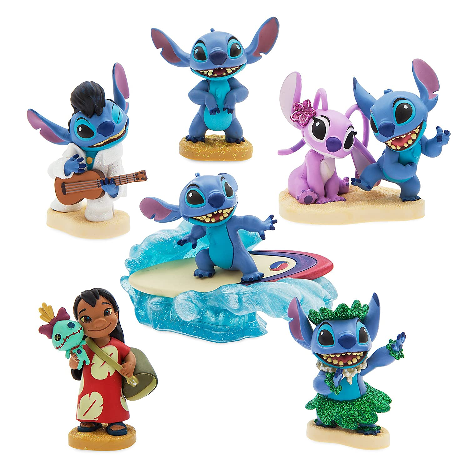 Amazon.com: Disney Lilo & Stitch Figure Play Set: Toys & Games
