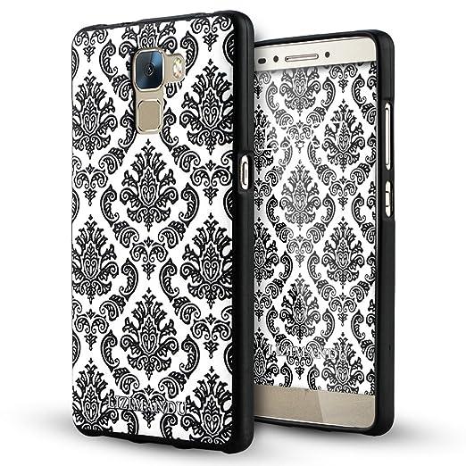 57 opinioni per Huawei Honor 7 Cover,Lizimandu Creative 3D Schema UltraSlim TPU Copertura Della