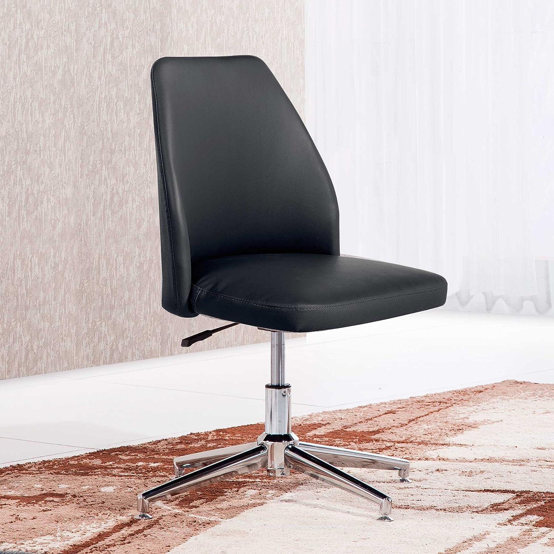 Adec - Butaca silla de escritorio para despacho modelo modelo modelo MIKE base fija color Gris Marengo e02e9f