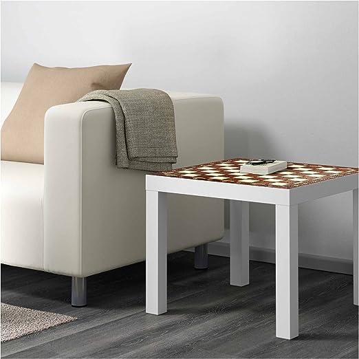Vinilo para Mesa IKEA Lack Personalizada Tablero Ajedrez Antiguo ...