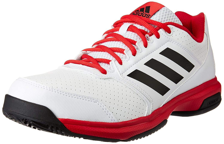 Adidas adizero ftwwht hombres de ataque, cblack y rayred zapatos tenis