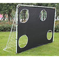 KLB Sport Portable 3 in 1 Soccer Goal Targets with Carry Bag