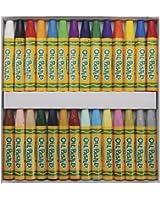 Crayola Oil Pastels; Art Tools; 28 ct; Bright, Bold Opaque Colors; Jumbo Size; Hexagonal Shape…
